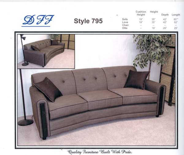 Custom Built Sofa
