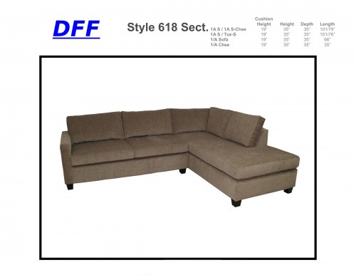 618 Sectional