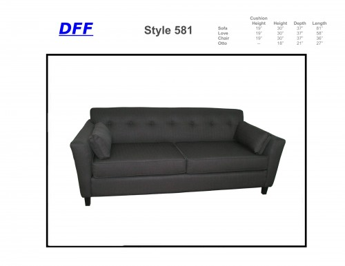 581 Sofa Sleeper