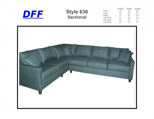 636 Sectional