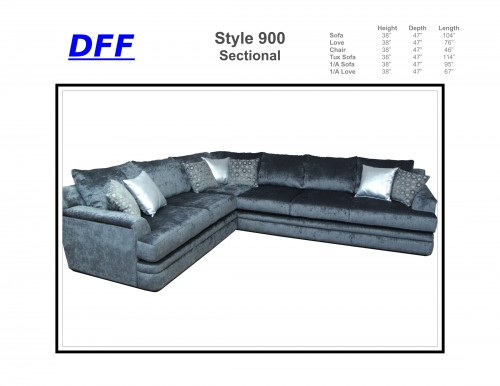 900 Sectional