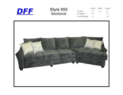 955 Sectional