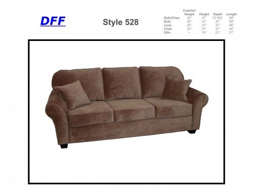 Genial 528 Sofa