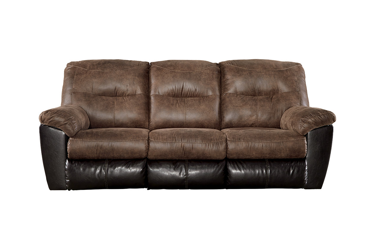 Ashley Follett Reclining Sofa (652)